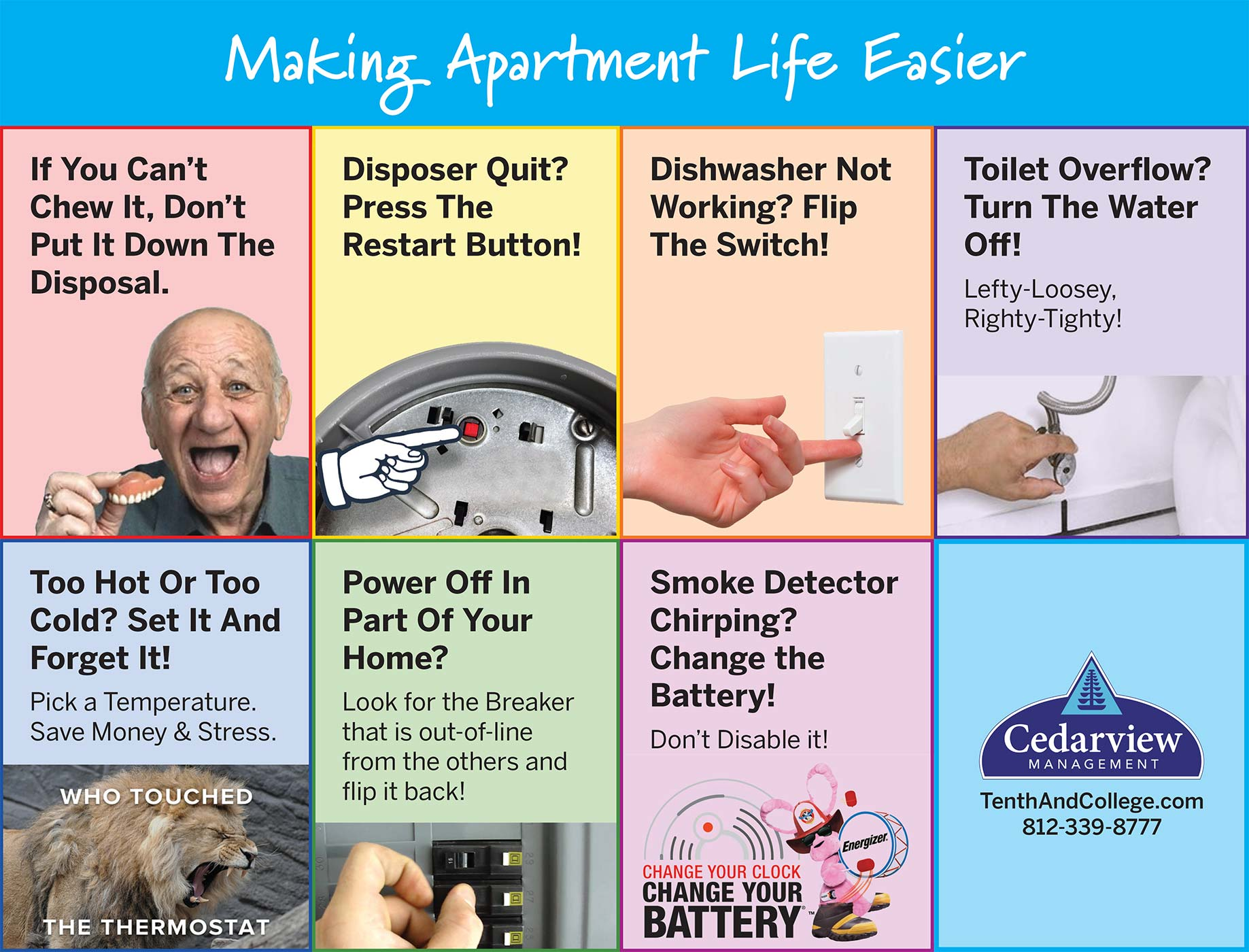 7 Simple Maintenance Quick Tips for Apartment Living